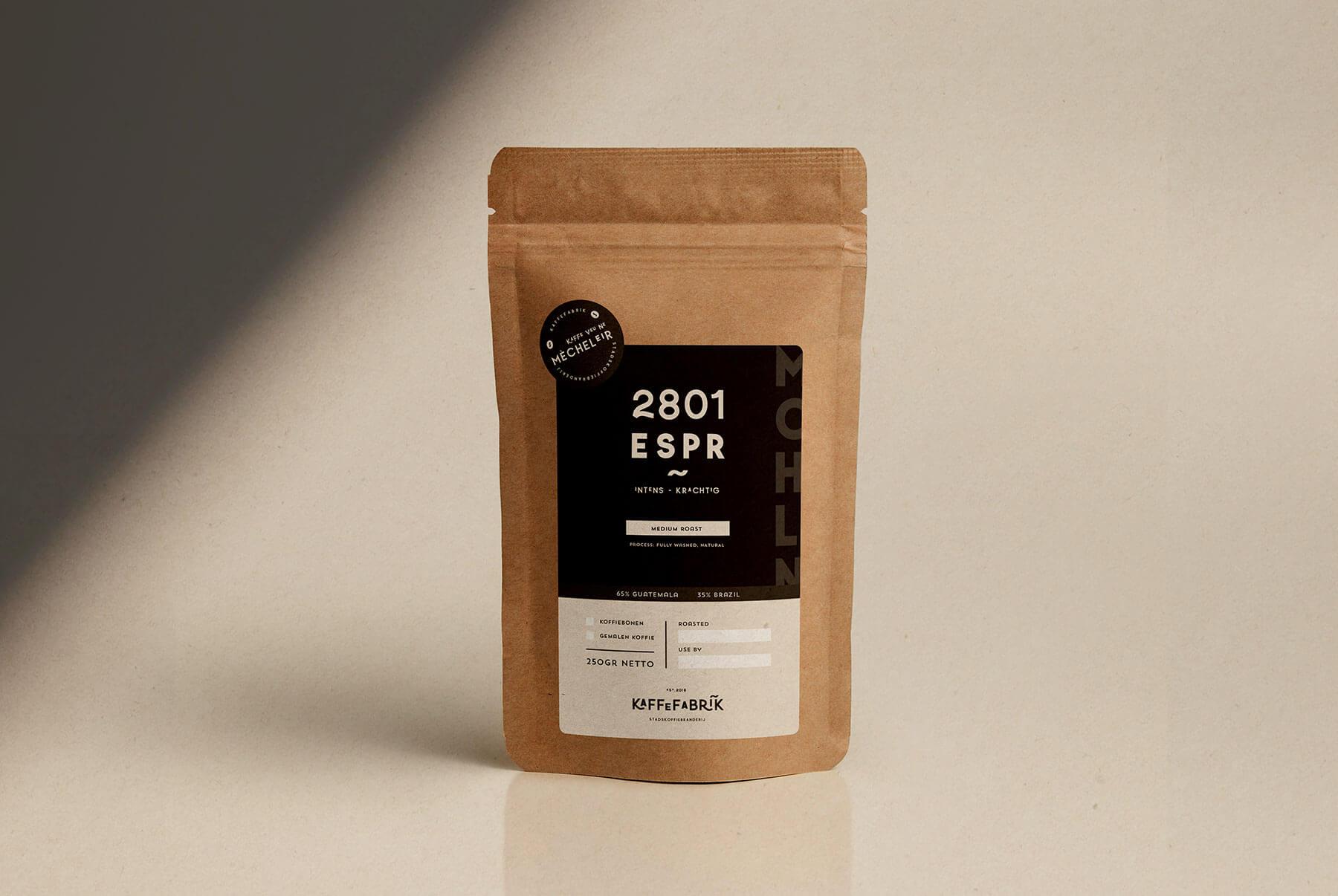 visual identity kaffefabrik