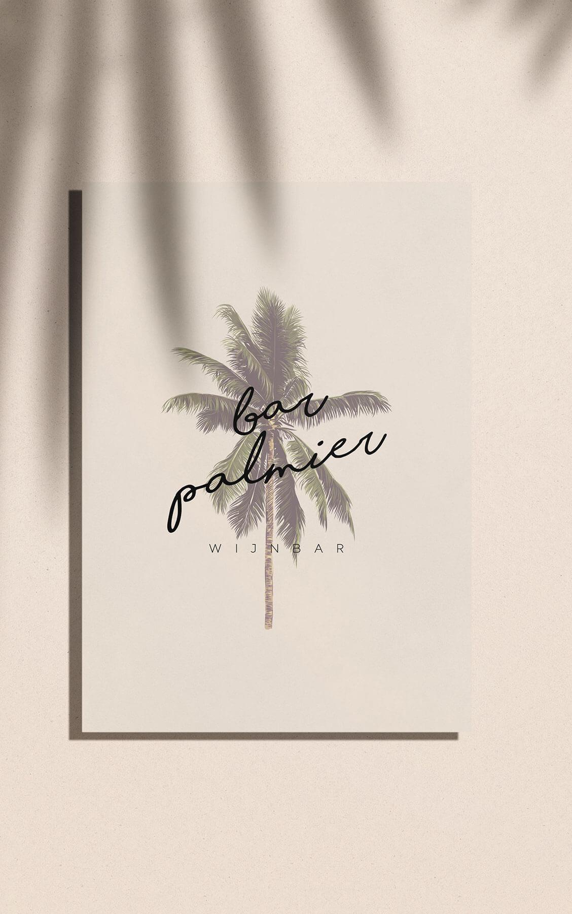 logo bar palmier